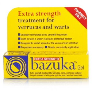 Bazuka treatment gel and Extra strength