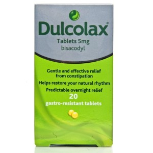 Dulcolax 5mg gastro resistant tablet