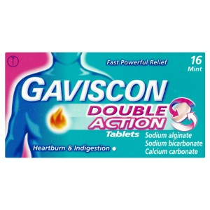 Gaviscon Double Action mint 16 tabs