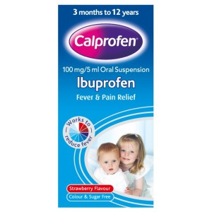 Ibuprofen suspension 100mg   5ml  100ml