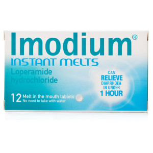 Imodium instant melts 12 tabs