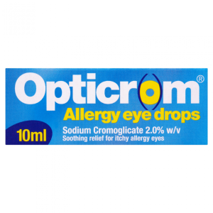 Opticrom allergy drops 2 10ml