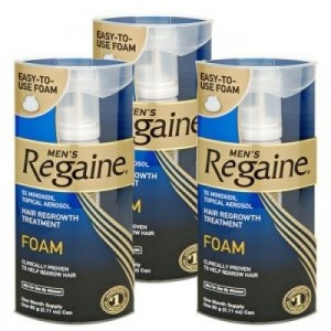 Regain foam for Men - triple pack-500x500