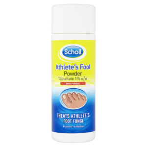 Scholls athletes foot powder