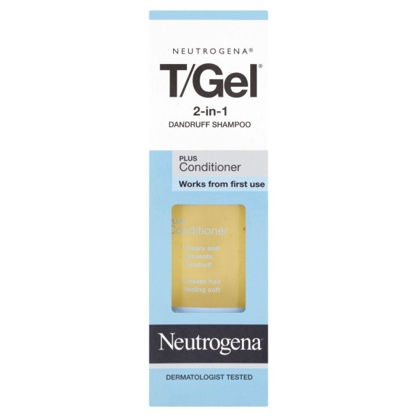 T gel shampoo Dry hair 125ml, 250ml