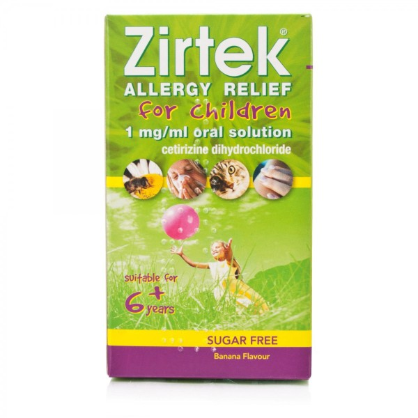 Zirtek Once a day Allergy solution 150ml